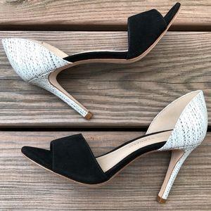 LOEFFLER RANDALL Char-Kse Color Block Dress Sandal
